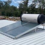Envirosun solar hot water plonk for the Sydney Northern Beaches Roonsleigh builders